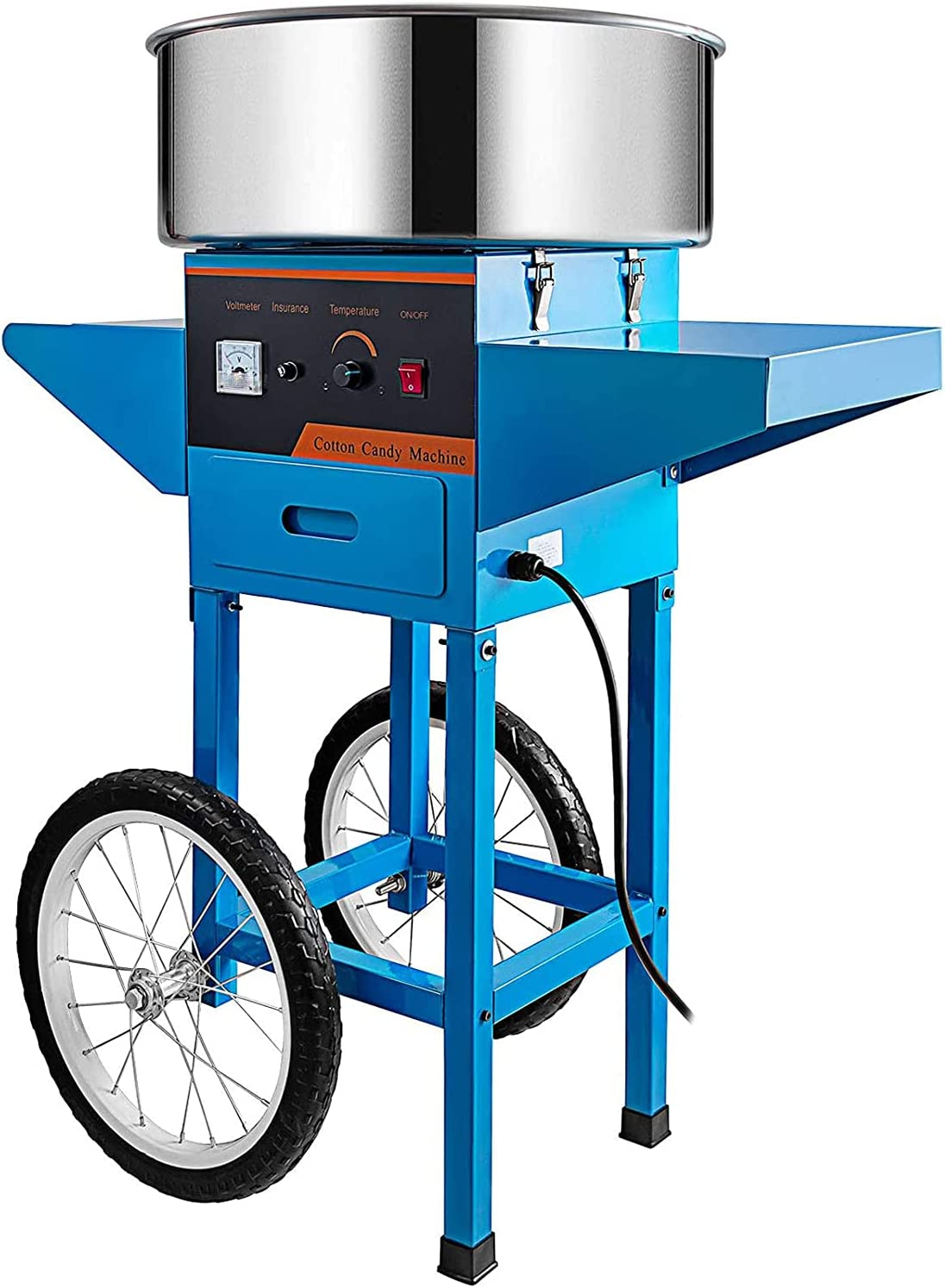WLL-DP Commercial Cotton Candy Machine Auto Inch All items free shipping Be super welcome Cart 20.5 with