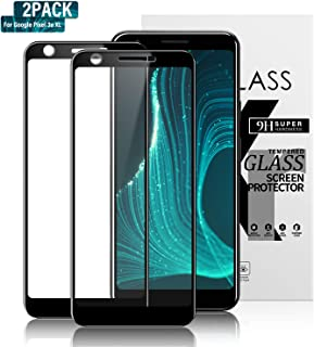 Gozhu (2-Pack) Google Pixel 3a XL Tempered-Glass Screen Protector, Bubble Free, Fingerprint, Scratch, and Force-Resistant,Case-Friendly Screen Protector for The Google Pixel 3a XL