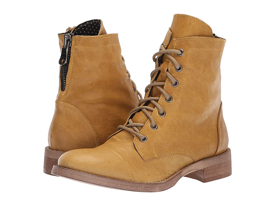 Free People Portland Lace-Up Boot (Yellow) Women