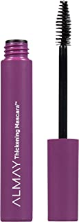 Almay Thickening Mascara with Aloe and Vitamin B5, Hypoallergenic, Cruelty Free, Fragrance Free, Ophthalmologist Tested, 4...