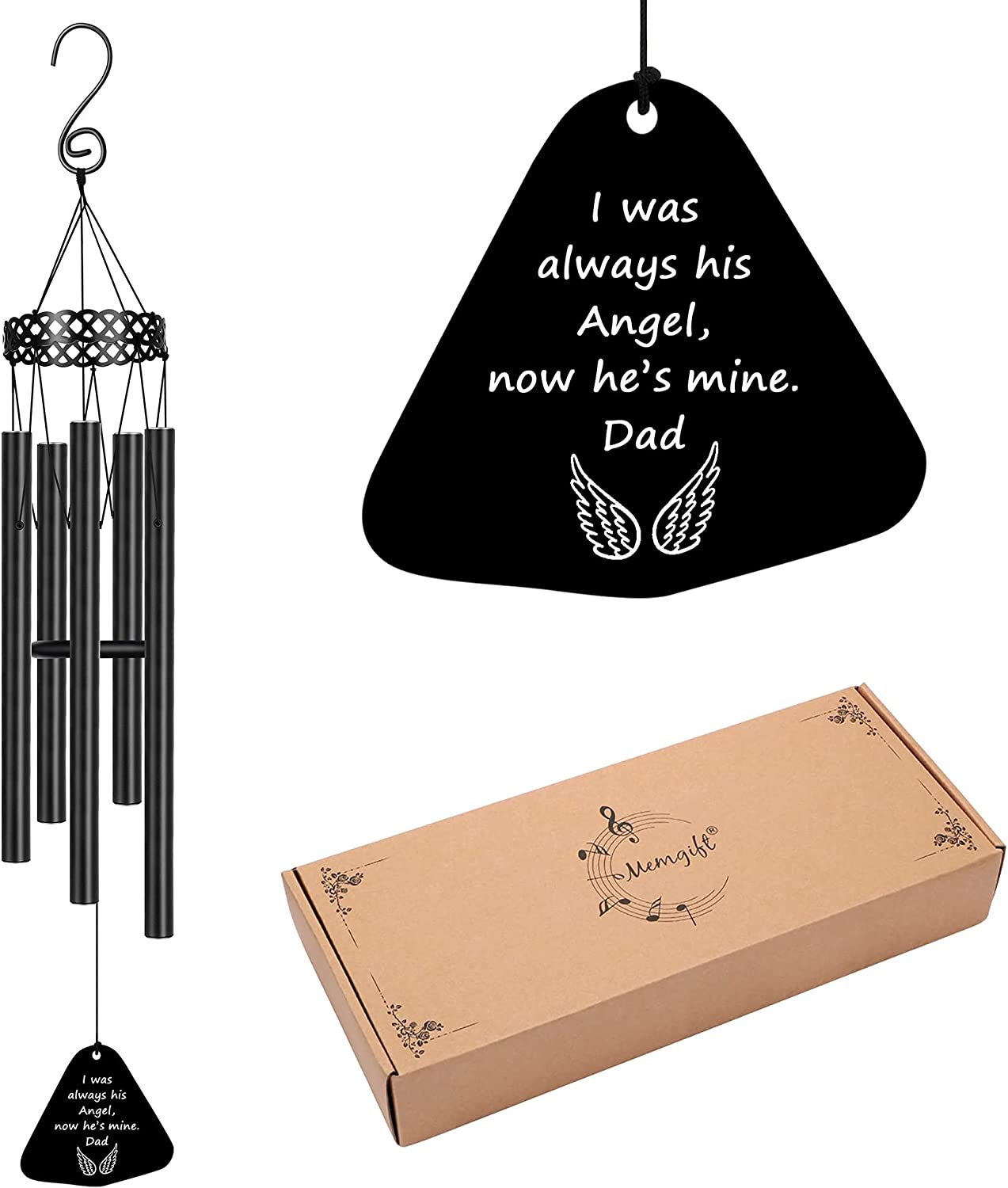 Memorial Wind Chimes for Loss of One Sympathy Bargain sale Gifts Loved Prime Max 90% OFF