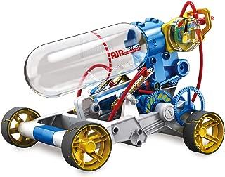 "Elenco Teach Tech ""Air Screamer"", Compressed Air Powered Racing Vehicle, STEM Building Sets for Kids 10+"