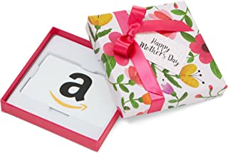 Amazon.com Gift Card in a Floral Box for Mother's Day