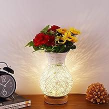 Pumpumly LED Bloemen Vaas Decoratieve Lichten voor Festival Kerstmis Bruiloft Opladen Desktop Decoratie Kamer Creatieve US...