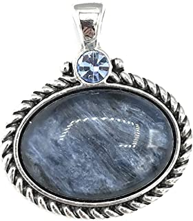 Denim Retired Pendant