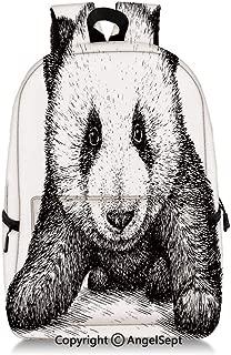 Everyday Backpack Baby Panda Bear Illustration Style Artwork Asian Nature Anima