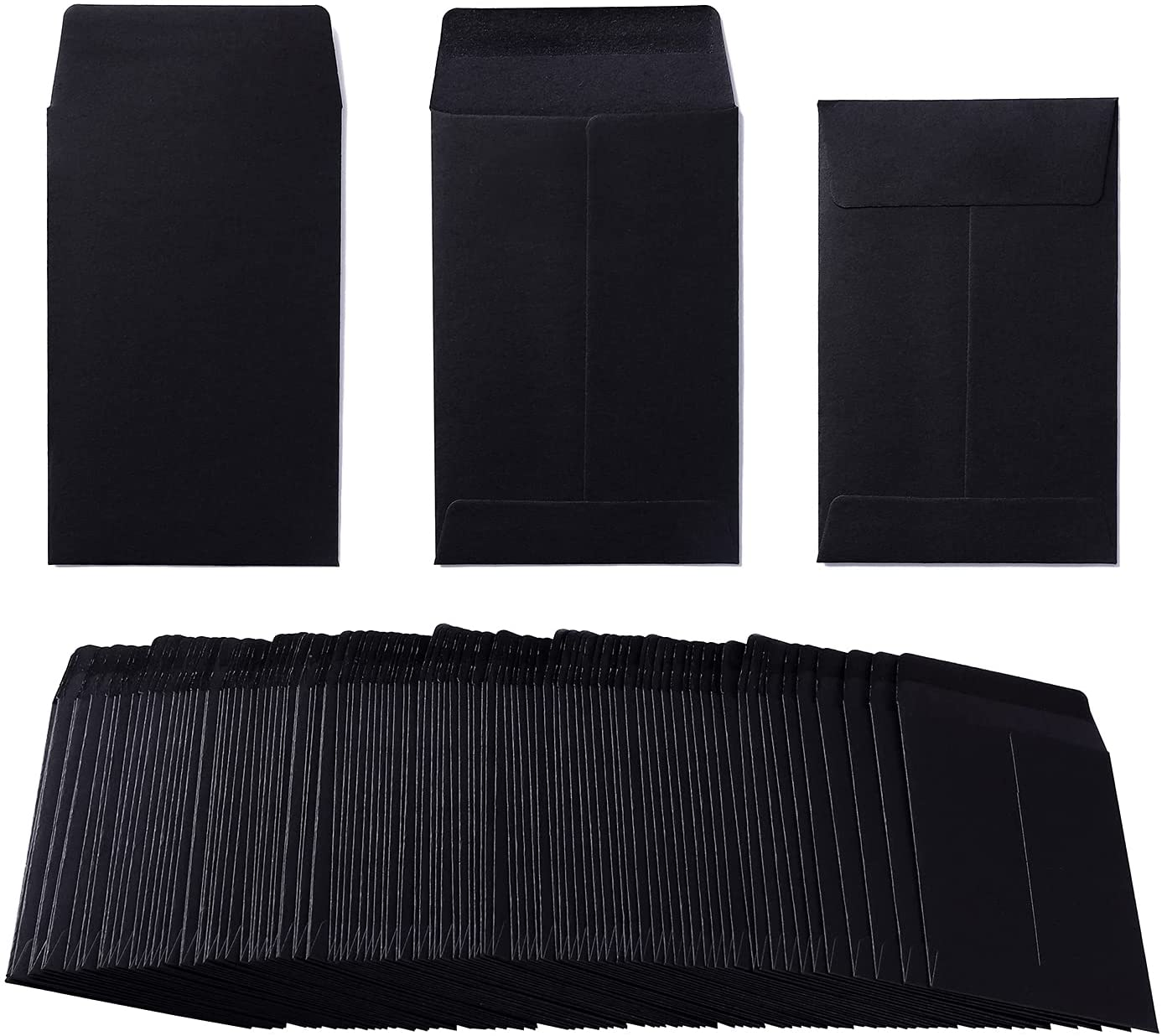 Max 65% OFF 200 Pack Kraft Small Large discharge sale Self-Adhesive Seed Envelopes Coin