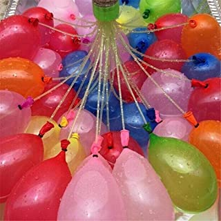 Water Balloons Bunch Filled With Water Inflatable Balls Party Decoration Latex Toy/ 111pcs bag