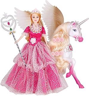 Power Joy Leila Princess 30cm Doll and Magic Pegasus, Assorted, LH201555