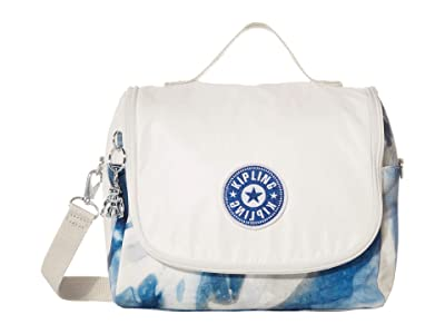 Kipling Kichirou Insulated Lunch Bag (Tie-Dye Blue Lacquer) Handbags