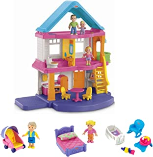 Fisher-Price My First Dollhouse Super Set