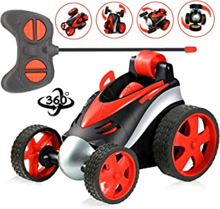 2020 Newest Toys Birthday Gifts for 3-8 Year Old Boys 360 Degree Remote Control Stunt Cars Safe and Durable Best Gift for Boys Girls Hottest RC Car Toys for 3-8 Year Old Kids