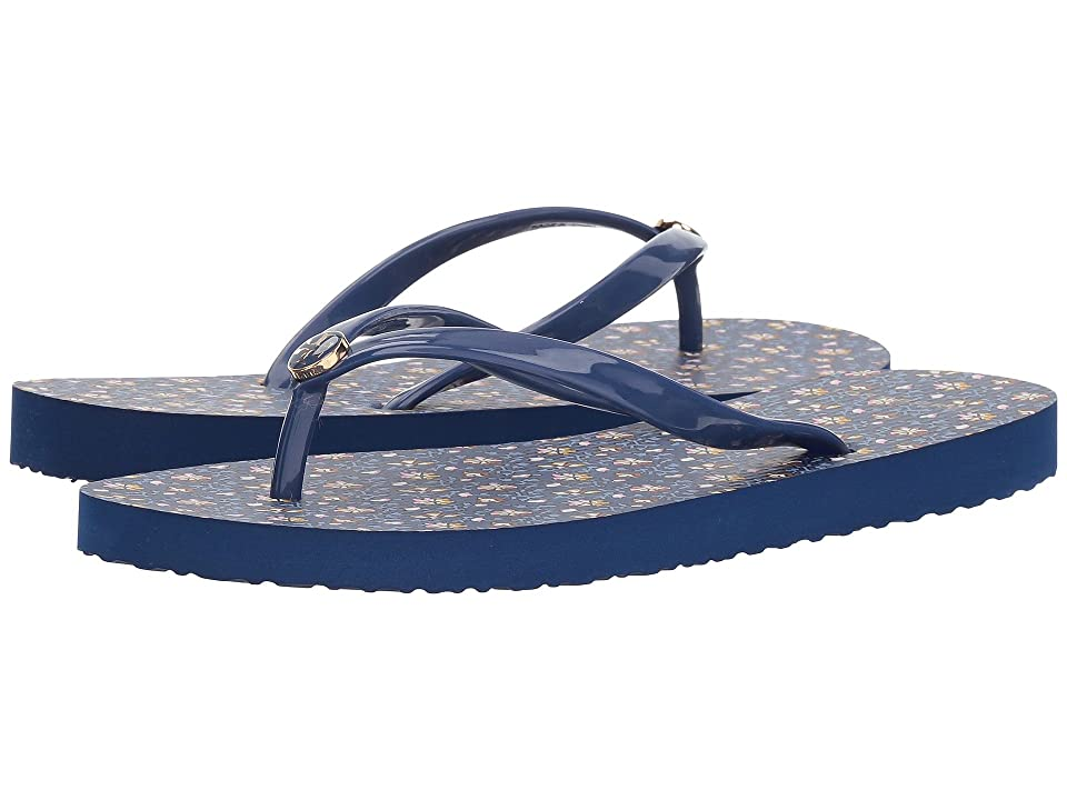 Tory Burch Thin Flip Flop (Fresh Blueberry/Wild Pansy) Women