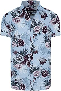 Connor Men's Press Shirt Short Sleeve Classic Tops Sizes XS-3XL Affordable Quality with Great Value