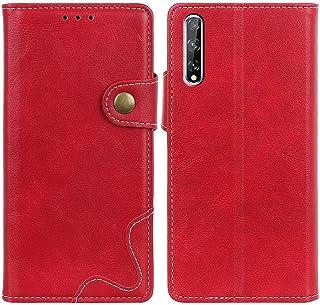 MOONCASE Case for Huawei Y8p/Enjoy 10S, Premium PU Leather Cover Wallet Pouch Flip Case Card Slots Magnetic Closure Mobile...
