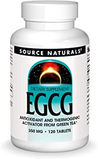 Source Naturals EGCG Antioxidant and Thermogenic Activator From Green Tea - 120 Tablets