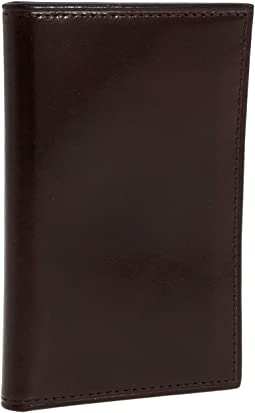 Old Leather Collection - 8 Pocket Credit Card Case