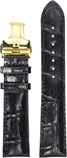 Black Leather Strap 20/18 Mm