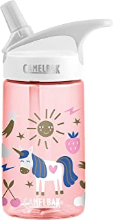 Camelbak Unisex's eddy Unicorn Party Eng/Spn Bottle, 300 Pink, 0.4 Litre