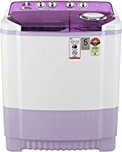 LG 7.5 Kg 5 Star Semi-Automatic Top Loading Washing Machine (P7535SMMZ, Mauve, Wind Jet Dry)