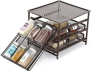 Best kitchen cabinet spice storage Reviews