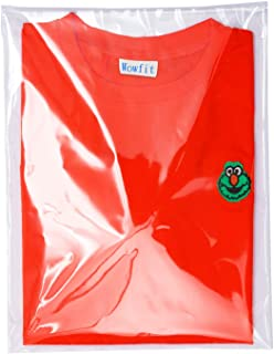 Wowfit 100 Count 10x13 inches Clear Cellophane Plastic Bags, Resealable Self-Sealing Cello Bags Great for Clothes, Shirts,...
