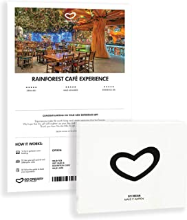 Rainforest Cafe Gift Card Nationwide - GO DREAM - Sent in a Gift Package