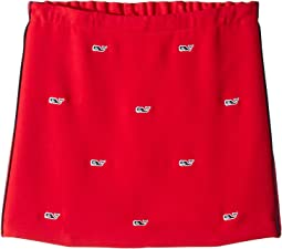 Ponte Embroidered Skirt (Toddler/Little Kids/Big Kids)