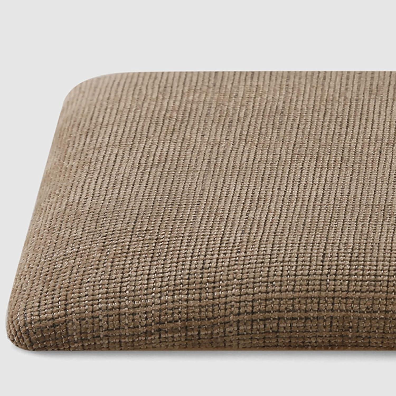 Ropa De Cama Settee Cushion Memory Foam Cushion Antideslizante Cocina Cojín De Comedor Cojín Self-Adhesivo para El Zapato De Banco De Pasillo para El Hogar-Cambiar Taburete-B 120 * 30 * 3cm