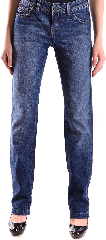Dekker Women's MCBI24415 bluee Cotton Jeans