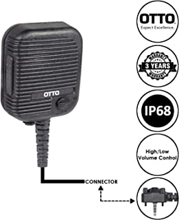 OTTO Evolution Speaker Microphone for Motorola Vertex Standard VX-231 VX-350 EVX-531 EVX-534 and EVX-539 Two Way Radios