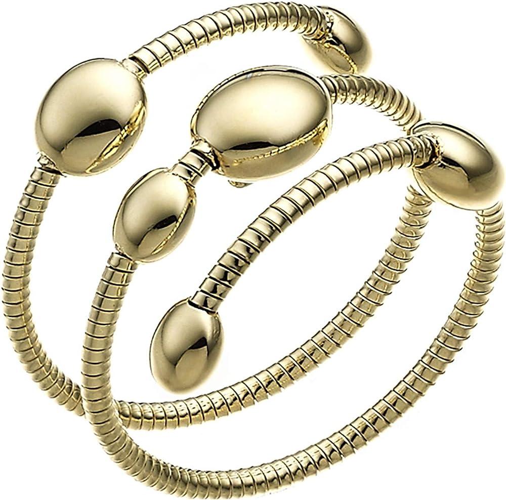 Chimento , anello flessibile a triplo giro di spirale in oro giallo 18 kt(3,10gr) per donna 1A01442ZZ1140