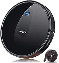 Bagotte Robot Vacuum, [2019 Upgrade] Robotic Vacuum Cleaner with 1600Pa High Suction, Self-Charging, Slim & Quiet, Automatic Vacuum Cleaner Robot for Pet Hair, Carpet, Hardwood Floors