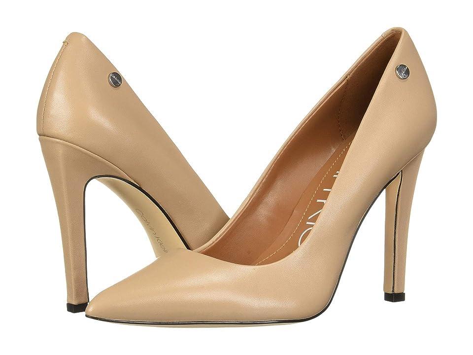 Calvin Klein Brady (Desert Sand Nappa) High Heels