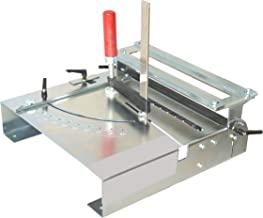Trenn-Biber Mesa de sierra 012LK + hojas de sierra originales de Bosch, Metabo y Festool y 3 hojas de sierra de vaivén en T para sierra de calar como cortador de laminado