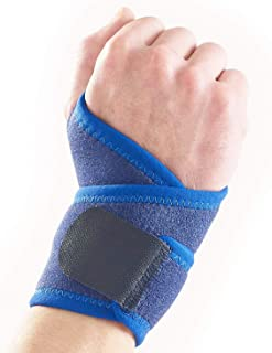 پشتیبانی مچ دست Neo-G - برای درد مفاصل ، آرتروز ، اسپریین ، سویه ، بی ثباتی ، بدنسازی ، ورزش ، گلف ، تنیس ، بسکتبال - فشرده سازی قابل تنظیم - دستگاه پزشکی کلاس 1 - یک اندازه - آبی