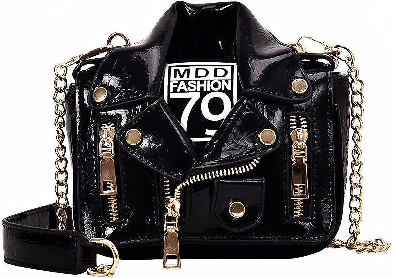 Max Max 72% OFF 74% OFF Pearl Women's Motorcycle Jacket Bag Punk Handbag P Fashion Style