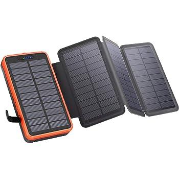YELOMIN Solar Powerbank 25000mAh Tragbares Solar: