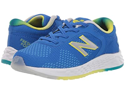 New Balance Kids Arishi v2 (Infant/Toddler) (Vivd Cobalt/Sulphur Yellow) Boys Shoes