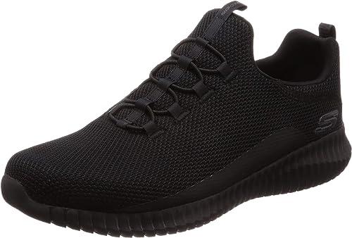 Skechers Hommes's Elite Flex Westerfeld Loafer, noir, 10.5 M US