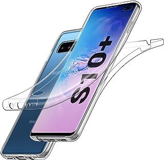 7ec24a0c679 EasyAcc Funda para Samsung Galaxy S10 Plus, Carcasa Protección 360°Full  Body Funda Transparente