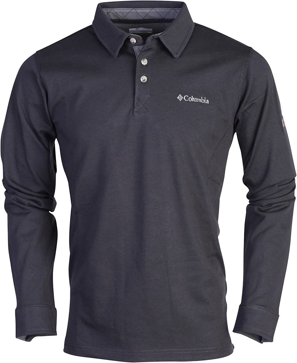 Columbia Fields of Grey Long Sleeve – Polo Hombre