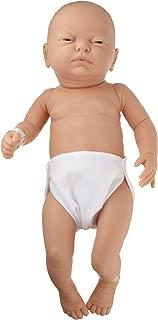 3B Scientific W17000 Newborn Male Baby Care Model, 19.7