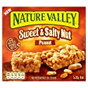 Nature Valley Sweet and Salty Nut Peanut Cereal Bars 30g (Pack of 5 bars)