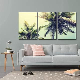 wall26 - Palm Tree on Tropical Beach - Canvas Art Wall Decor - 16