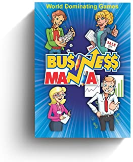 Business Mania Game - Card Game About Building Businesses and Crushing Competition. Board Game for Entrepreneurs, Friends ...