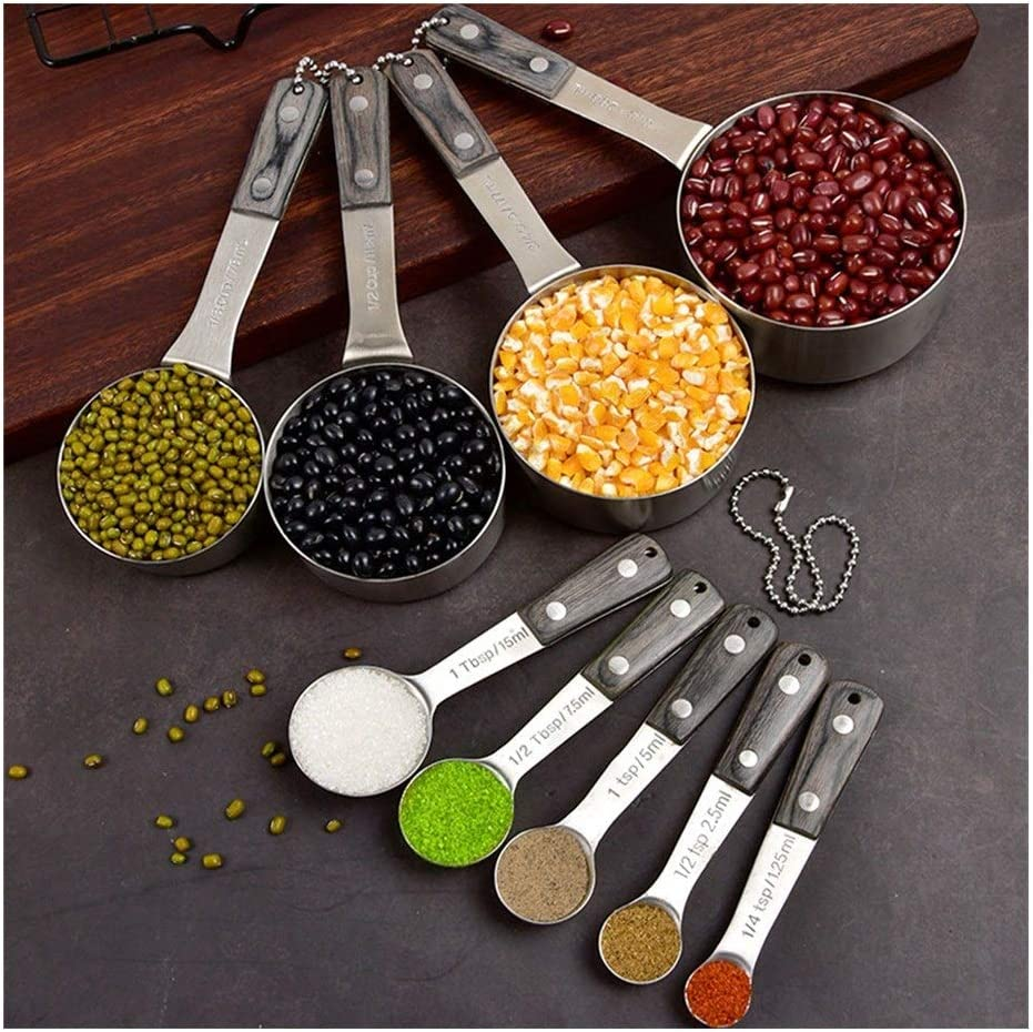 Max 55% OFF Measuring cups and spoons set Stainless Spoo Measuring Steel Max 89% OFF