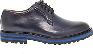 ARTISTI E ARTIGIANI Luxury Fashion Mens AEA8066NAVY Blue Lace-Up Shoes | Fall Winter 19