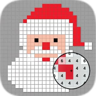 Christmas Pixel - Coloring Art Books For Kids