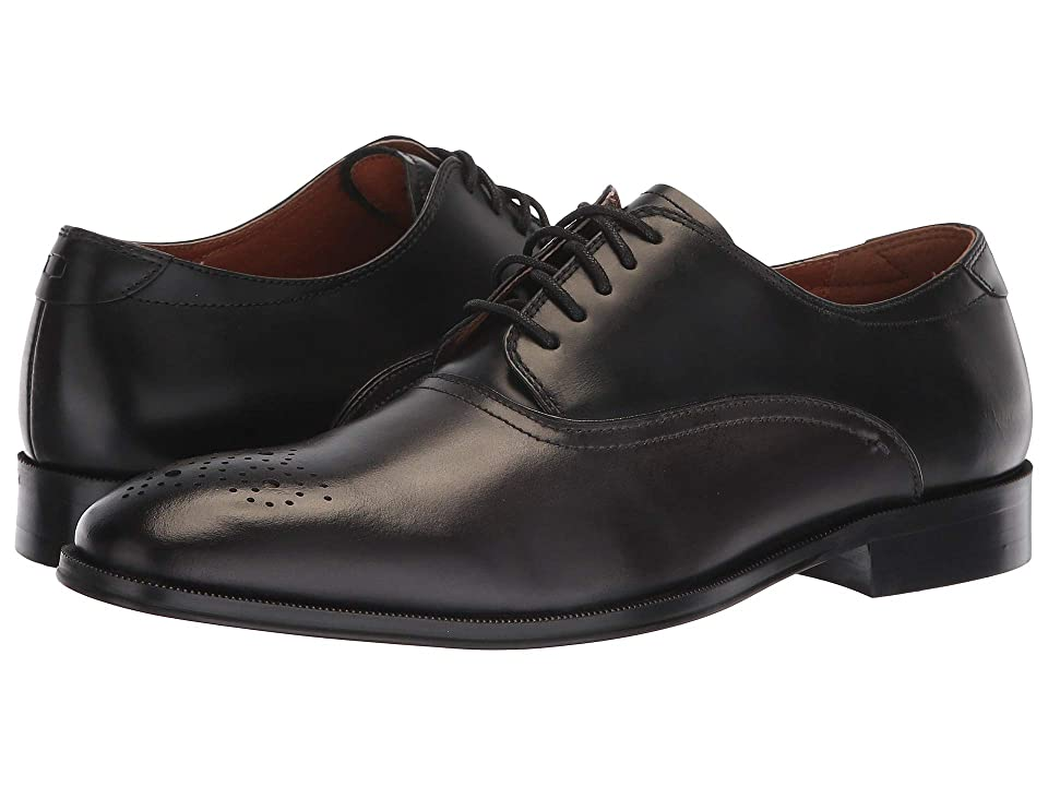 Florsheim Belfast Perf Toe Oxford (Grey/Black Smooth) Men